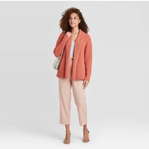 A New Day Women's Chenile Open Front Cardigan
